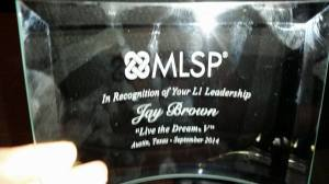 jay_brown_MLSP_L1_award_My_lead_system_pro