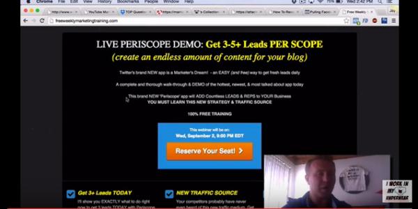 periscope information